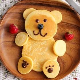 クマのパンケーキ